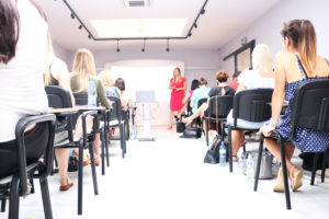 Panel marketingu na szkoleniu wprowadzającym Studio Figura
